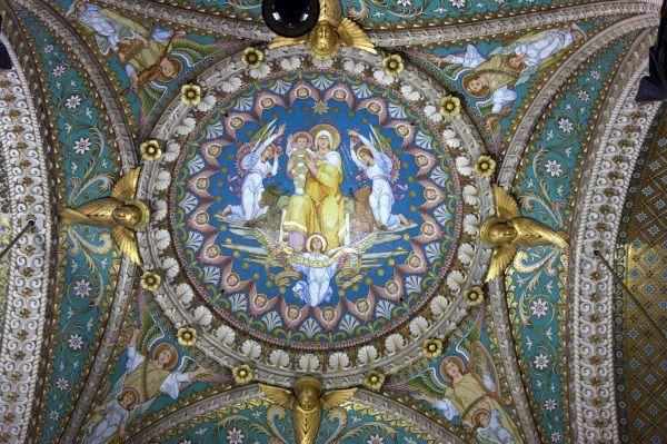 Basilica Notre-Dame de Fourvière in Lyon