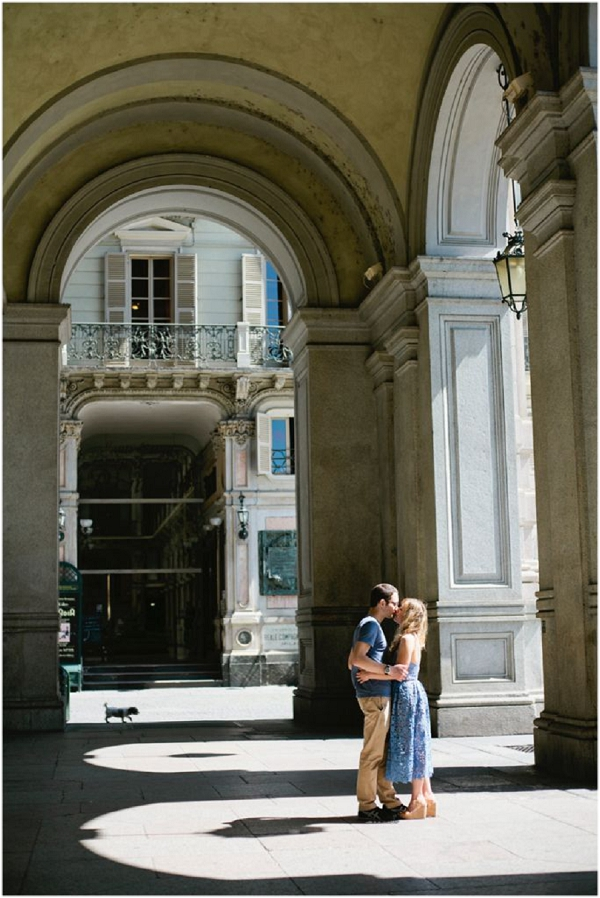 Bride Tracey, engagement photos in Italy
