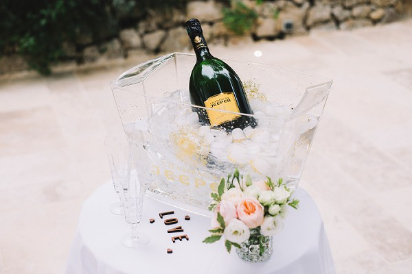 Champagne French Riviera Engagement