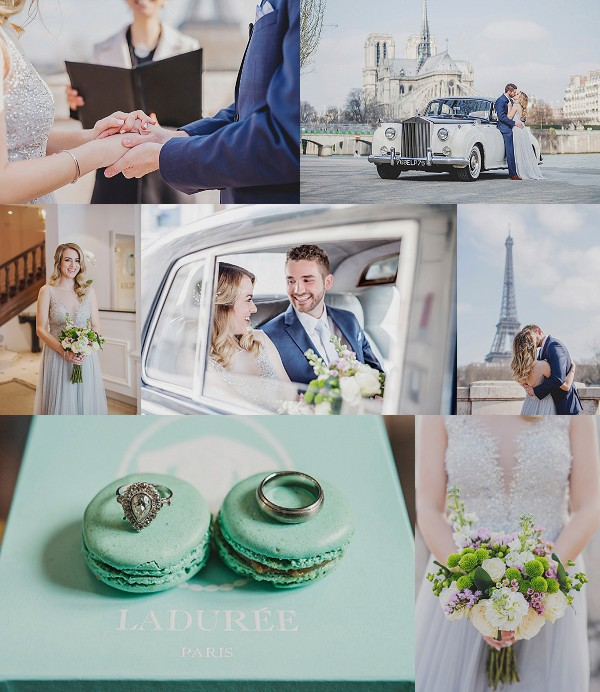 Houston to Paris City of Love Elopement Snapshot