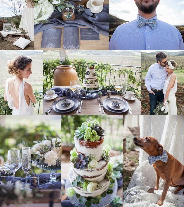 Domaine de Bérénas Vinyard Wedding Inspiration Snapshot
