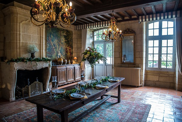 Elegant french wedding venue