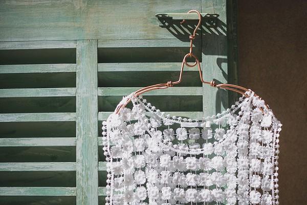 Lace wedding attire