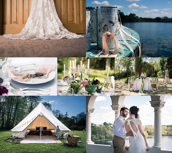 Lake Side Chateau de Brindos Wedding Inspiration Snapshot