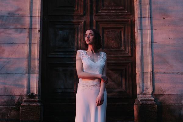 Lyon based wedding dress designer