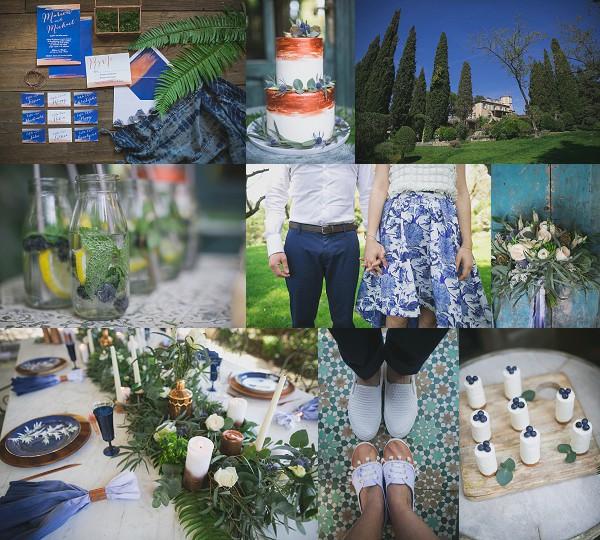 Something Blue Inspired Chateau Styled shoot Snapshot