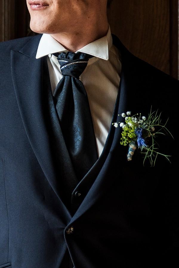 Unique buttonholes