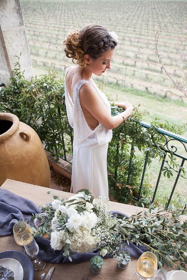 Vineyard French Wedding