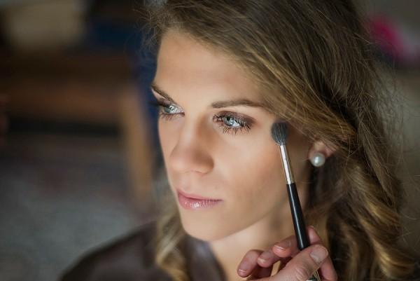 Virginie'e wedding make-Up