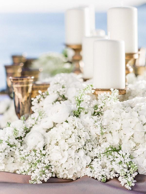 Wayne Riley Luxury Flower centerpiece