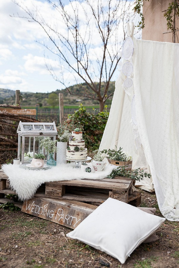 Wedding day styled shoot