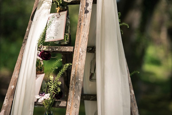 Wedding ladder idea