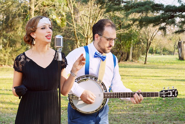 1920's inspired wedding shoot