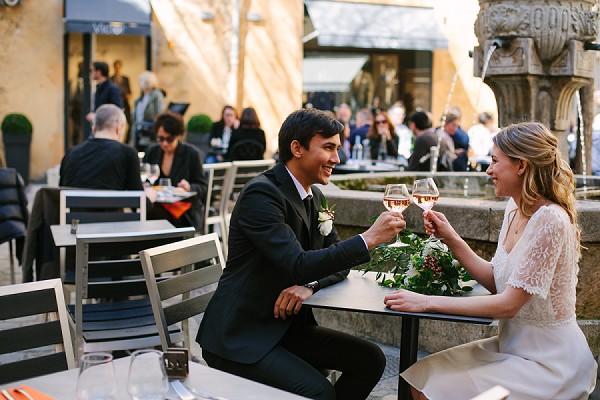 Aix en Provence city wedding