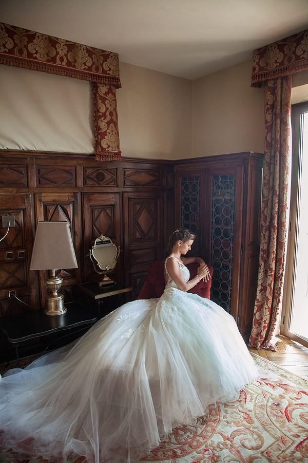 Amazing bridal portrait