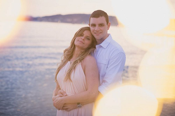 Chic Seaside Engagement