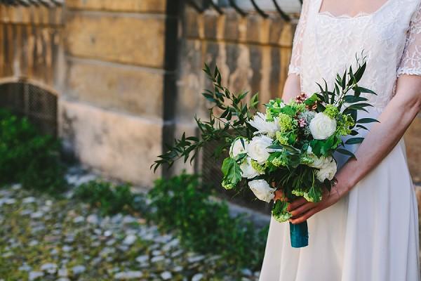 Christina Sfez Wedding dress