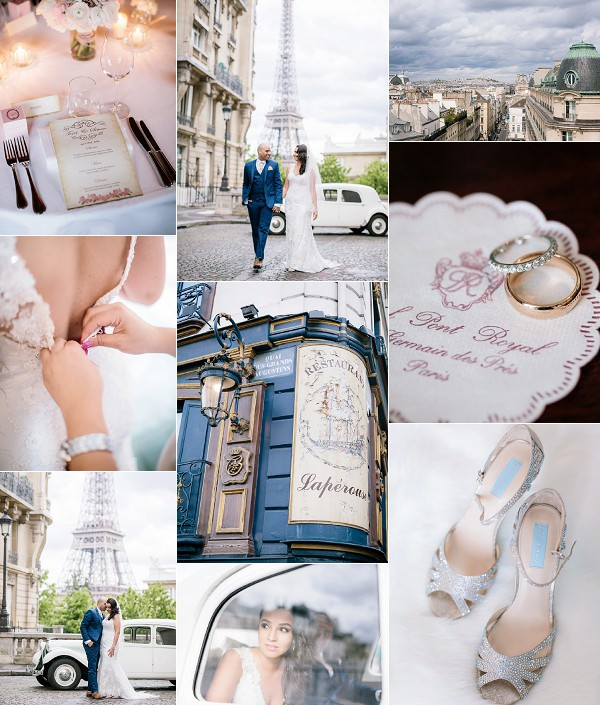 Classic Paris Style Destination Wedding Snapshot