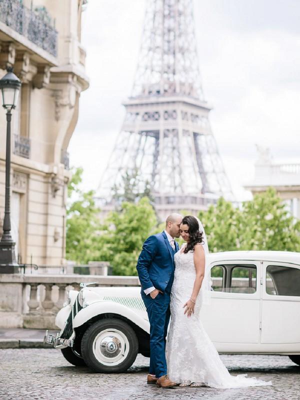 Classic Paris Style Destination Wedding