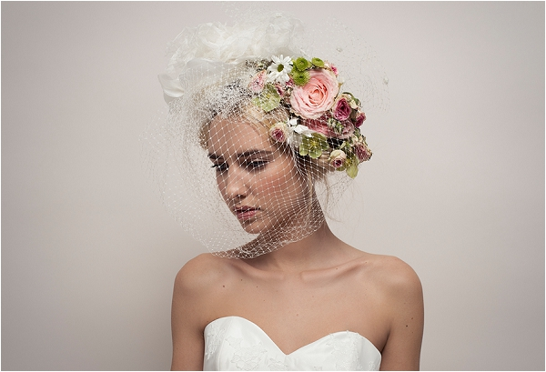 Floral wedding hair ideas