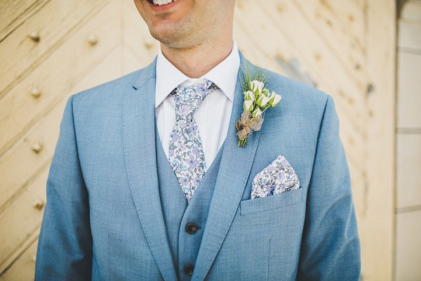 French inspired groom attire