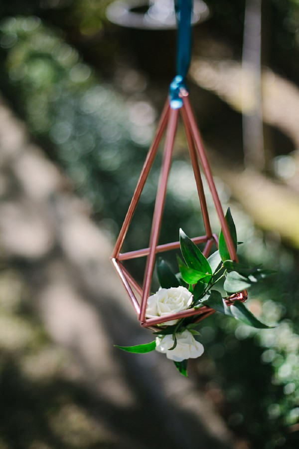 Modern garden wedding ideas