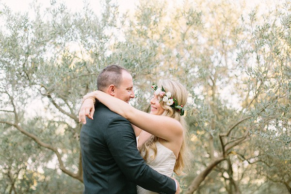 Olive tree wedding photograph