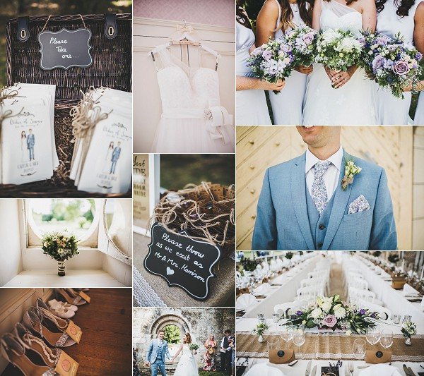 Relaxed Chateau De Clerbise Wedding Snapshot