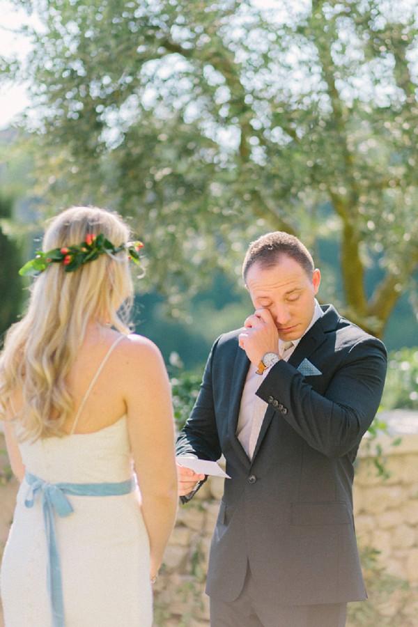 Sweet Provence Wedding Ceremony