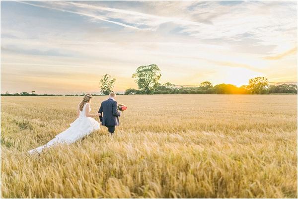 hayfield wedding in France