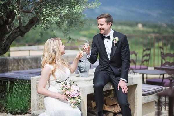 wedding champagne celebration