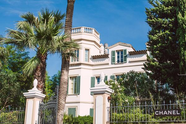Chanel building St Tropez
