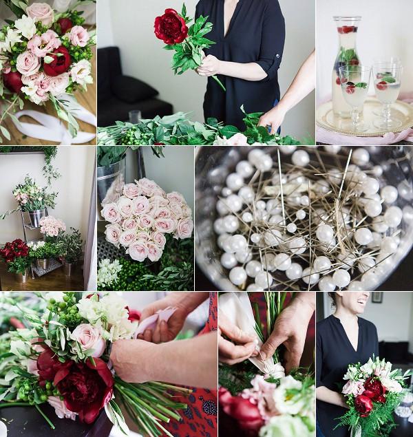 DIY Fine Art Wedding Bouquet Snapshot