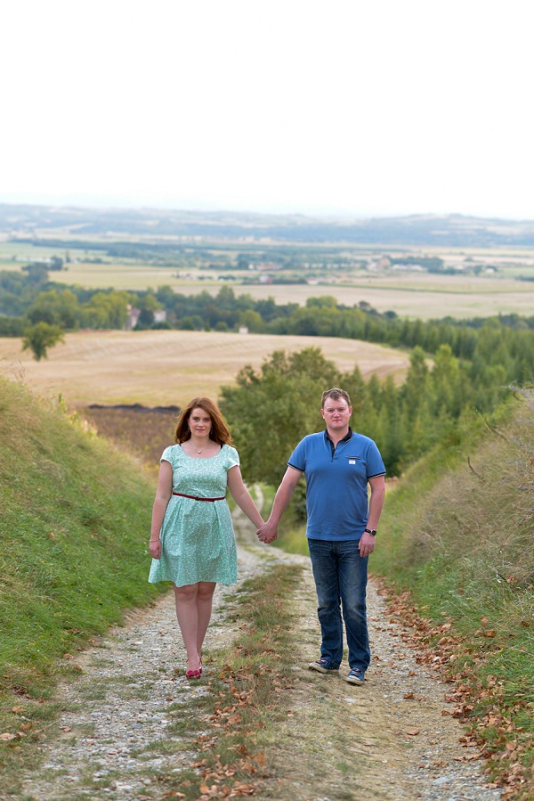 Domaine du Beyssac Pre-Wedding Shoot