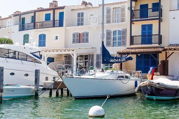 French Riviera yacht