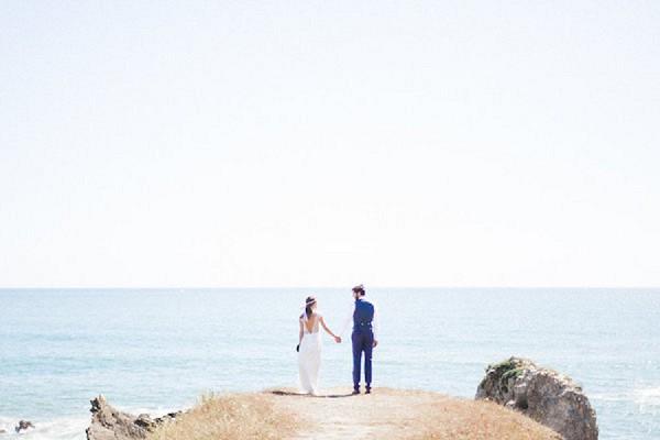 French Seaside Wedding