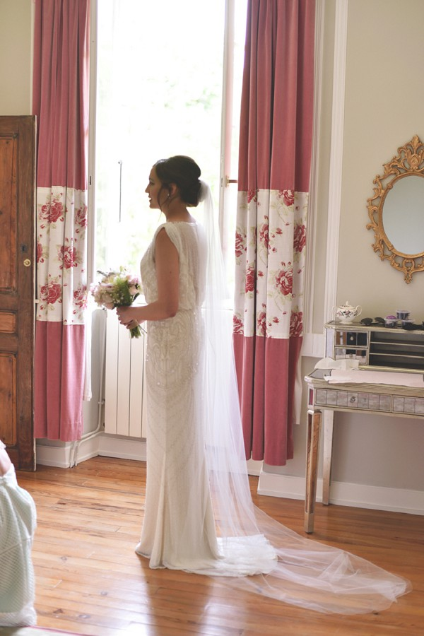 Jenny Packham For A Countryside Wedding In Gers