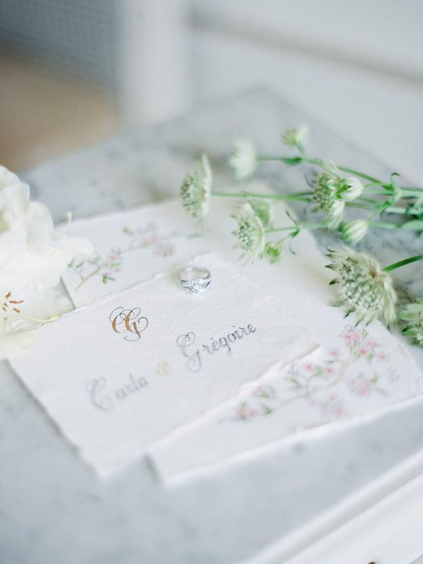 Luxury wedding stationary