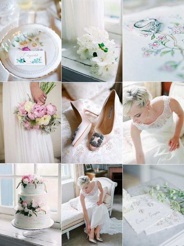 Normandy Villa Strassburger Wedding Inspiration