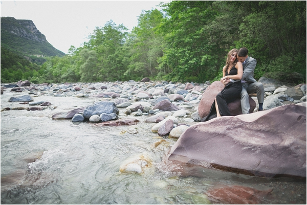 Pre-wedding photography river