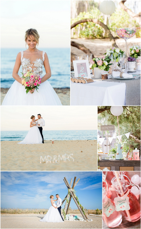 South of France wedding Inspiration Snapshot