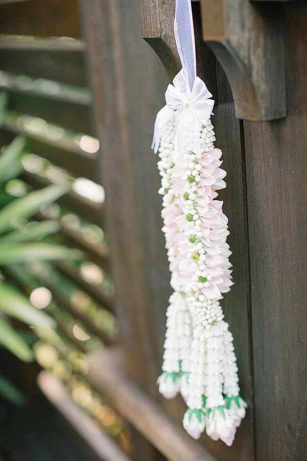 Thai wedding decor
