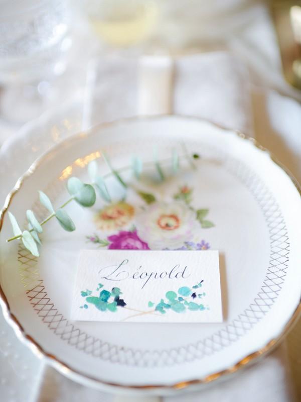 Vintage china wedding idea