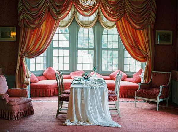 Vintage wedding reception ideas