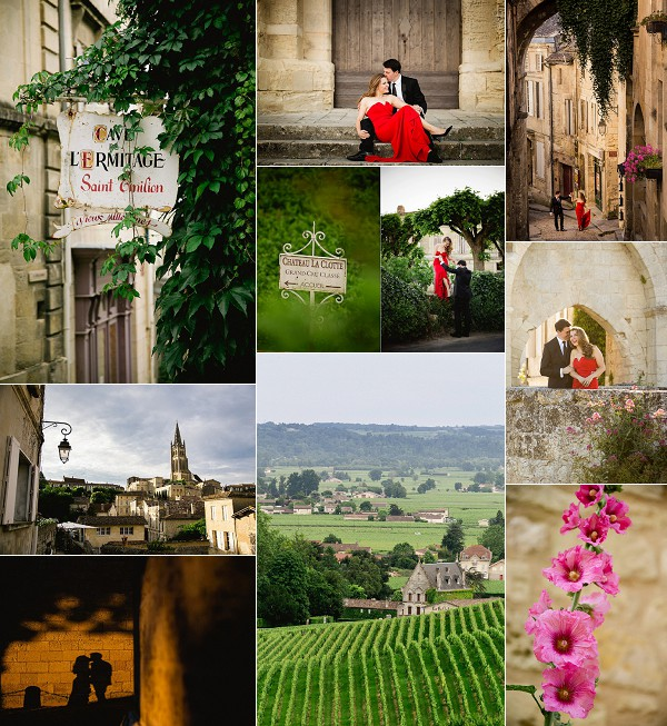 Wanderlust Couples Bordeaux Engagement Session