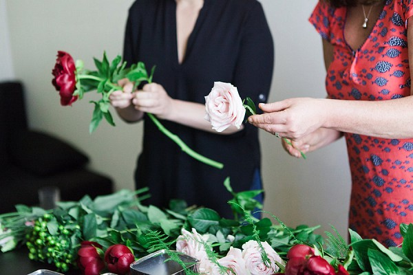 Wedding flowers tutorial