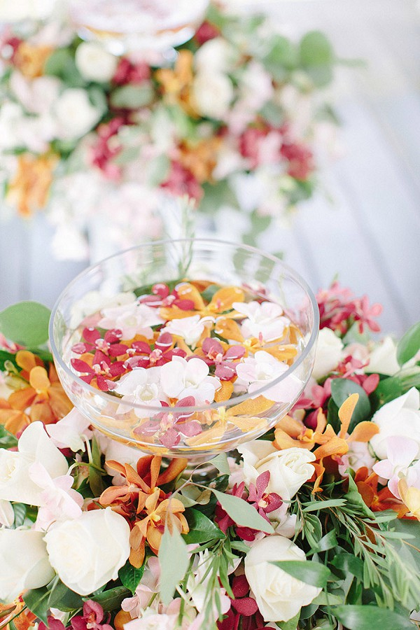 exotic french wedding flowers