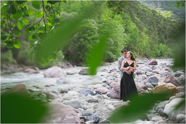 mountain pre wedding session