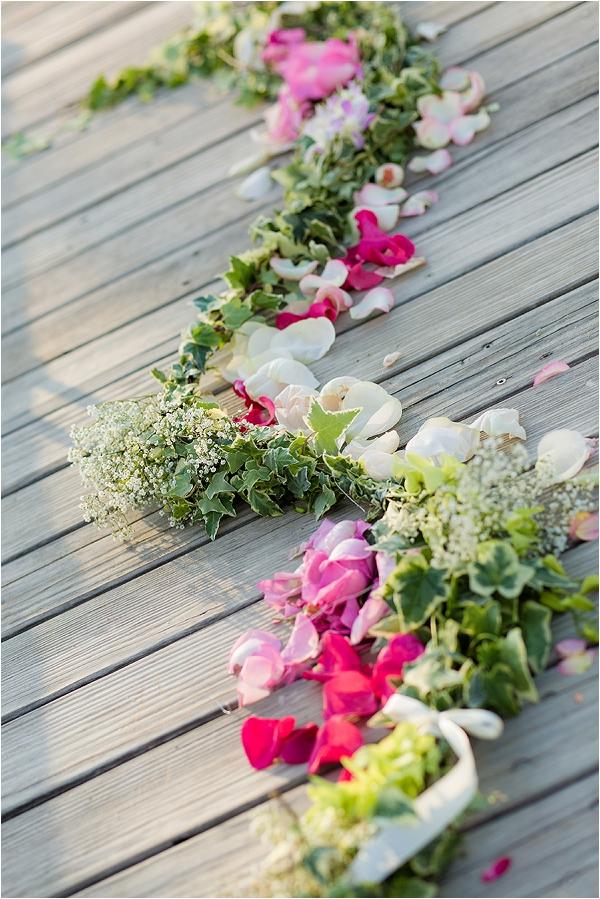 wedding floral floor designs