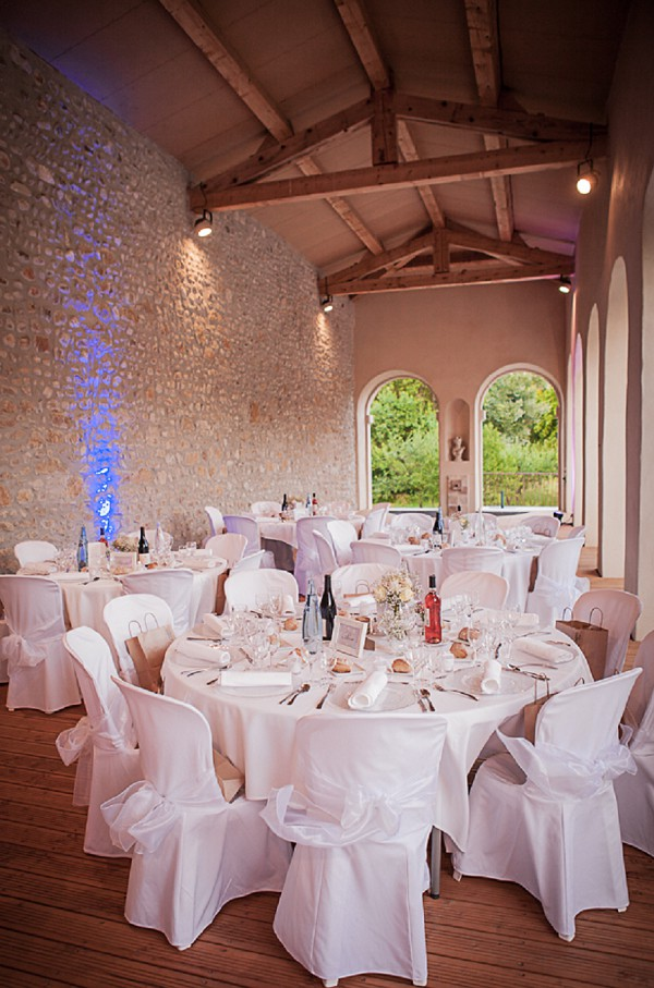 Chateau de Potelieres Wedding Tables